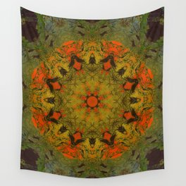 Another World Mandala Abstract Design Wall Tapestry