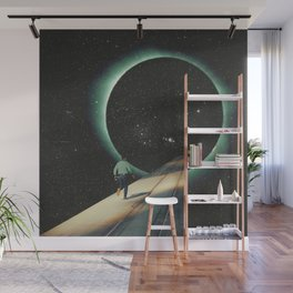 Escaping into the Void Wall Mural