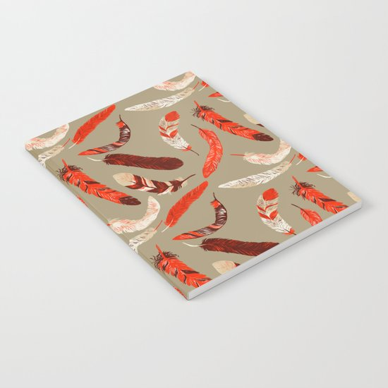 Flying Feathers Notebook
