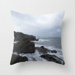 Shore Acres, Oregon Throw Pillow