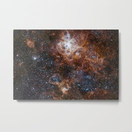Tarantula Nebula in the Large Magellanic Cloud Metal Print