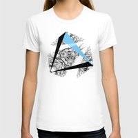 hexagon T-shirts featuring Hexagon by ADGPC