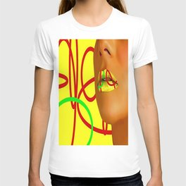 Lips clycle of life T-shirt