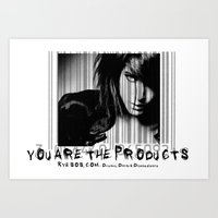 You are the products Art Print