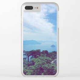 Japan: Lakes I Clear iPhone Case