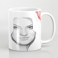 dexter Mugs featuring DEXTER by Olechka