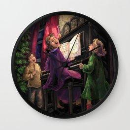Christmas Sing Along Wall Clock