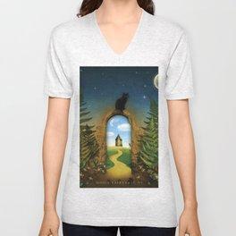 Moon Fairytale VI Unisex V-Neck