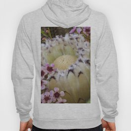 Beautiful Feather Protea Hoody