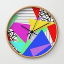 Bits And Pieces - Retro, random, abstract pattern by printpix