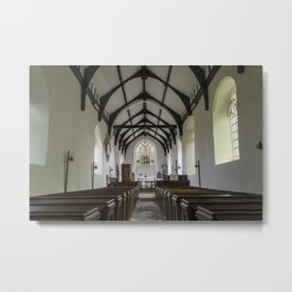 Church of St Edmund the King Martyr Metal Print