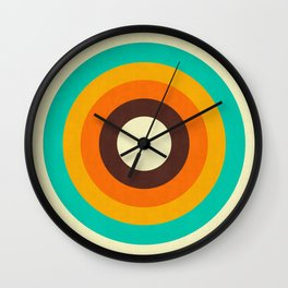 Minimalist and geometric composition II Wall Clock
