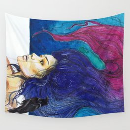 drowning in resentment Wall Tapestry