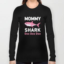 Mommy Shark Long Sleeve T-shirt