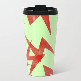 Red strikes Metal Travel Mug