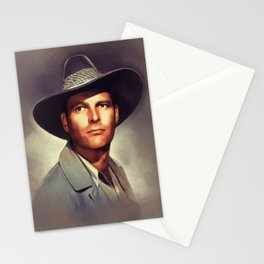Leif Erickson, Vintage Actor Stationery Cards