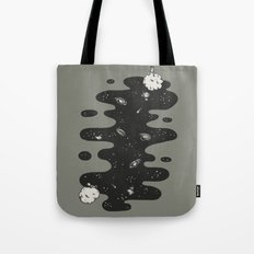 The Space Between Us Tote Bag