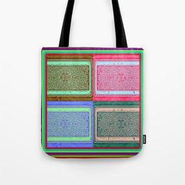 Retro brightness No'18 Tote Bag