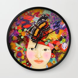 inside of me Wall Clock