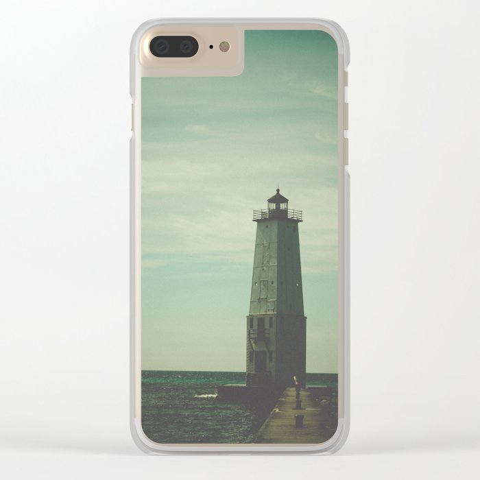 Northern Light Clear iPhone Case
