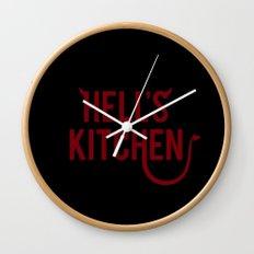 Devil of Hell's Kitchen Wall Clock