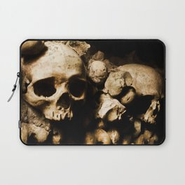 Skull walls in the catacombs Laptop Sleeve