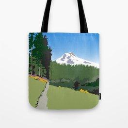 Mt Hood Meadows Hike Tote Bag