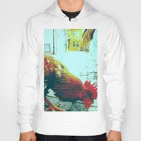 cock Hoodies featuring cock by habish