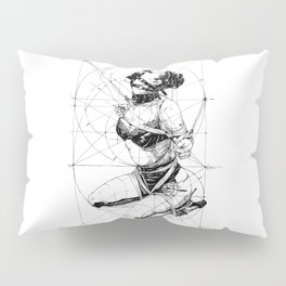 Restrained In Geometry. ©Yury Fadeev Pillow Sham