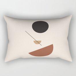 L'ascesa - On The Rise - modern abstract art hand drawn Rectangular Pillow
