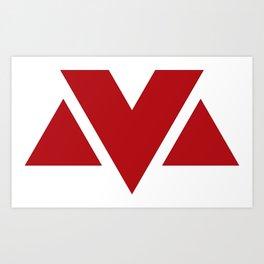 MV Logo Art Print