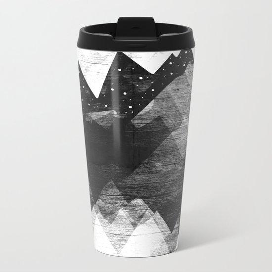 Torn Mounts Metal Travel Mug