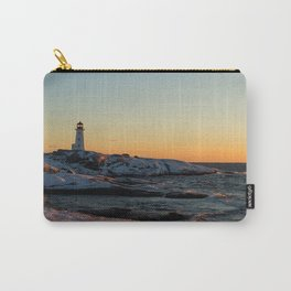 Peggy's Cove at Sunset Carry-All Pouch