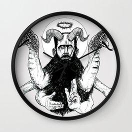 Jesus Frankenstein Wall Clock