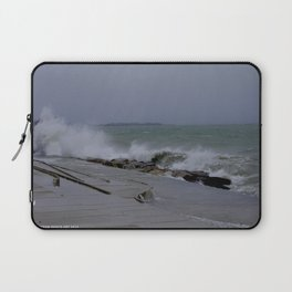 The Gale of Halloween '14 (Chicago Waves Collection) Laptop Sleeve