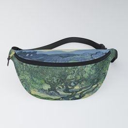 Vincent van Gogh - The Olive Trees Fanny Pack