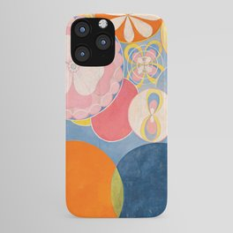 The Ten Largest, Group IV, No.2 by Hilma af Klint iPhone Case
