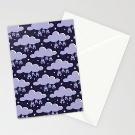 Dreaming bats Stationery Cards