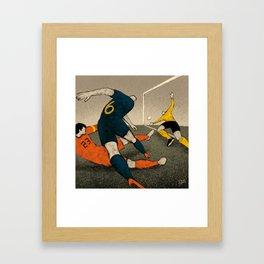 History of Football - 2010 Framed Art Print