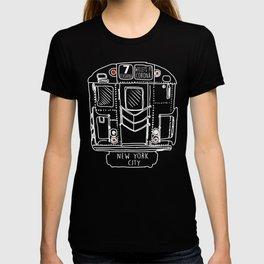 New York City Subway Train Vintage graphic T-shirt