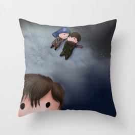 Eternal Sunshine of the Spotless Mind Throw Pillow