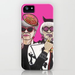 Fashionistas in NYC iPhone Case