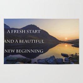 A Fresh Start Rug