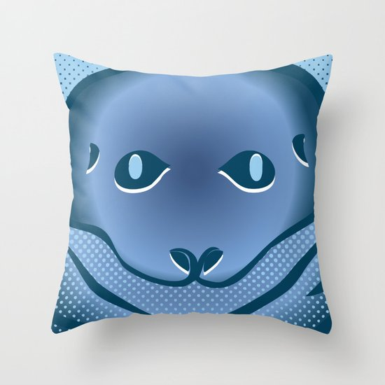 Lich-N-Seal Throw Pillow