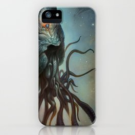 Yawanpok the Void Menace iPhone Case