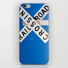 Railroad crossings iPhone & iPod Skin
