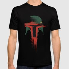 Bounty Hunter Mens Fitted Tee MEDIUM Black