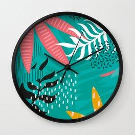 KORAY   Tropical #4 Wall Clock