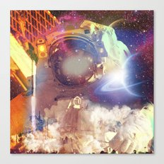 Spacer Canvas Print