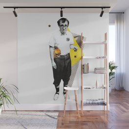 Woody Allen Wall Mural
